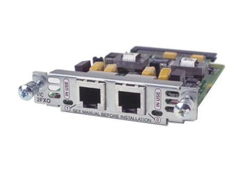 Cisco 2 FXO Voice Interface Card VIC2-2FXO