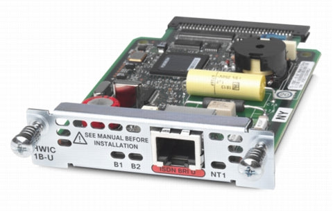 Cisco ISDN BRI U 1B V2 Wide Interface Card