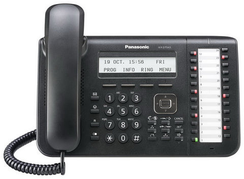 Panasonic KX-DT543 Digital Display Phone Black