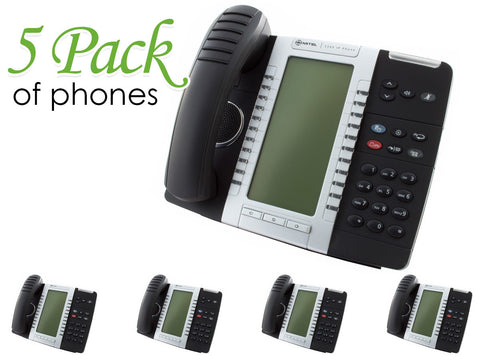 Mitel 5340 MiVoice IP Phone (50005071) - 5 Pack