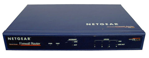 Netgear Cable/DSL Router, Switch, Firewall (FR314)