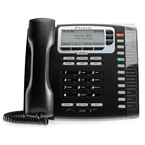 Paetec 9212P IP Phone with Power Supply