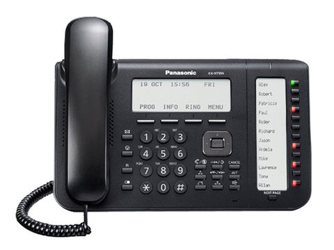 Panasonic KX-NT556 IP Gigabit Backlit Phone