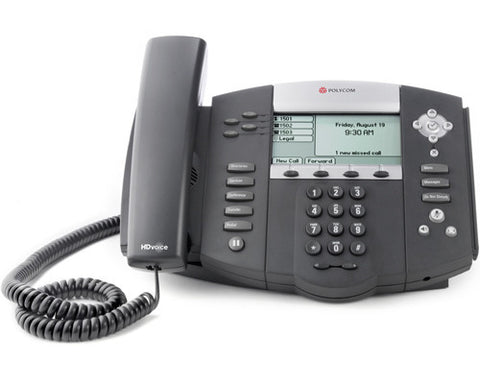 Polycom Soundpoint IP 550 VoIP SIP Phone 2200-12550-025