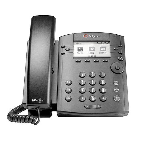 Polycom VVX 310 Gigabit IP Phone 2200-46161-025 - New