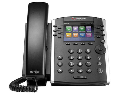 Polycom VVX 401 IP Phone (2200-48400-025)