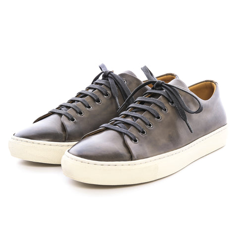 HG80 - Gray Leather Sneaker