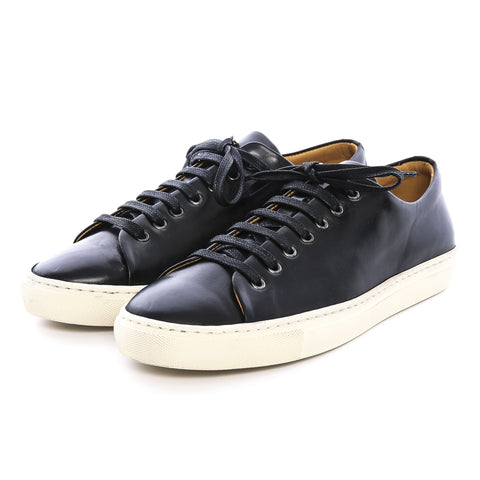 H1 - Black Leather Sneaker