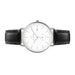 Eldwyn Watch - Matt Silver/White/Black Leather - Audace Copenhagen