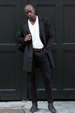 London Wool Coat - Black - Audace Copenhagen