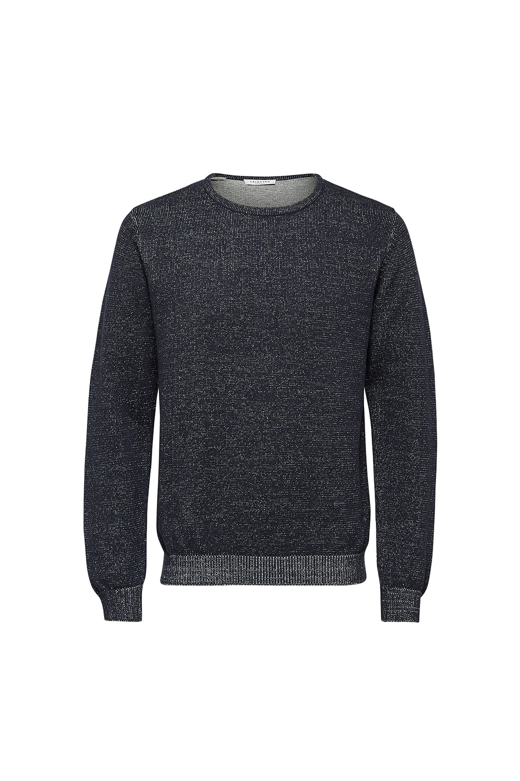 Andrew Camp Crew Neck - Dark Navy/Bone White - Audace Copenhagen