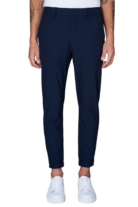 Ask 396 Pants - Midnight - Audace Copenhagen