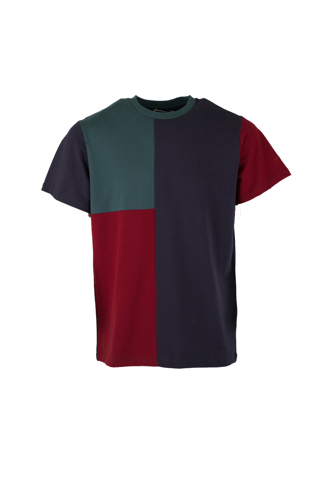 Brat Patchy Tee - Multi Colored - Audace Copenhagen