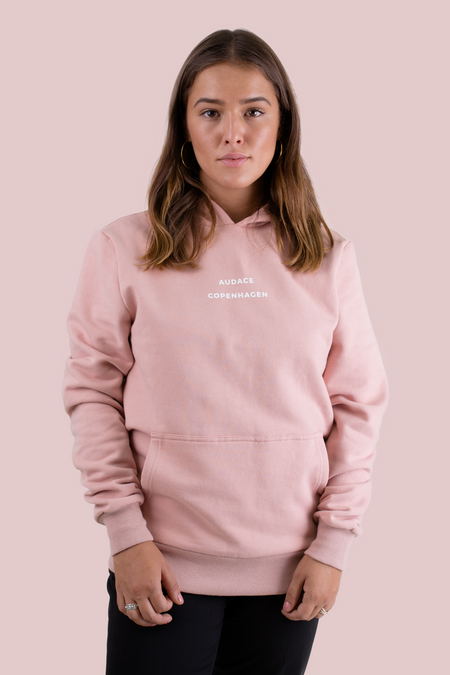 Brooklyn Hoodie - Misty Rose - Women - Audace Copenhagen