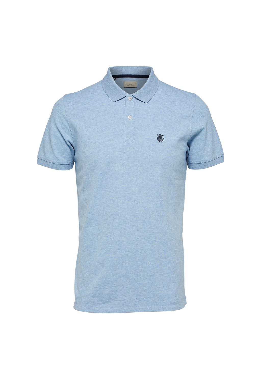 Haro Embroidery Polo - Skyblue - Audace Copenhagen