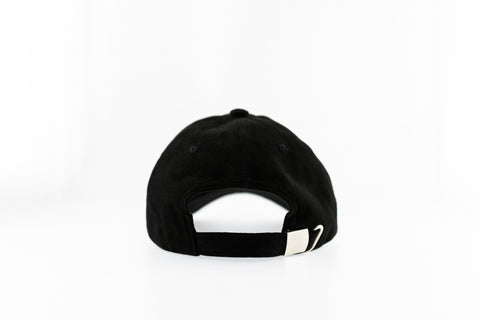Osbech - Faux Suede Dad Cap - Black