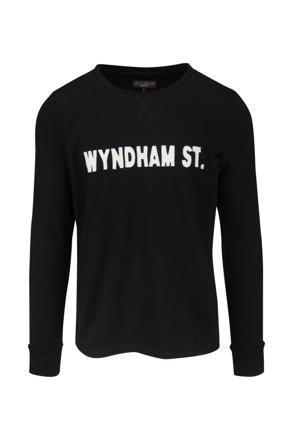 Wyndham St. Sweatshirt - Black (Small, Medium, Large, X-Large) - Audace Copenhagen