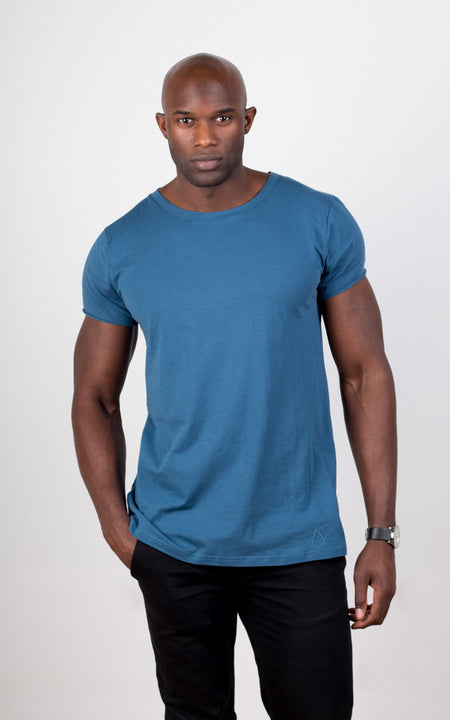 Louvel T-Shirt - Charcoal Blue - Audace Copenhagen