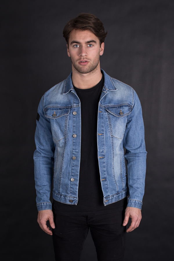 New York Denim Jacket - Indigo Blue - Audace Copenhagen