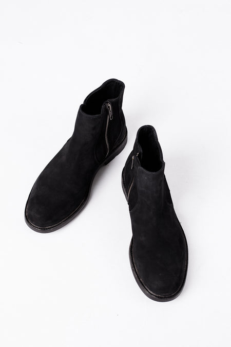 Peter - Chelsea Boots - Black Suede Leather - Audace Copenhagen