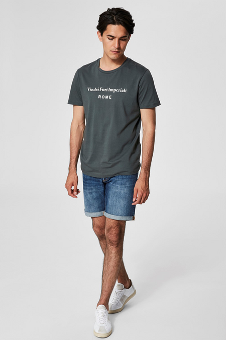 Simon City T-shirt - Green - Audace Copenhagen