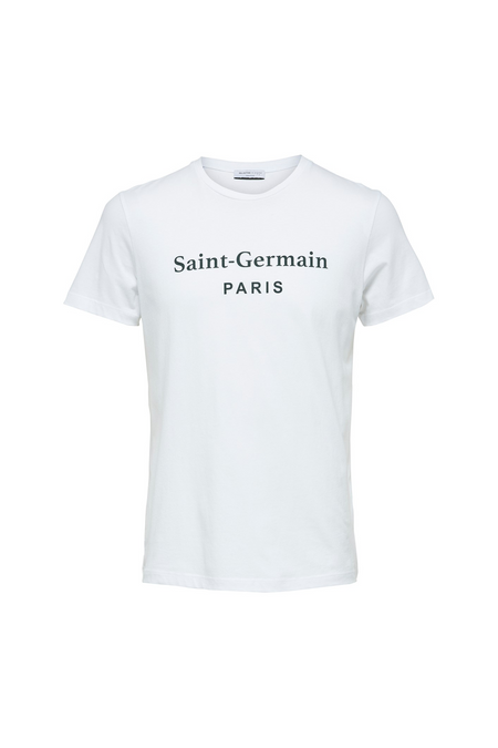 Simon City T-shirt - Bright White - Audace Copenhagen