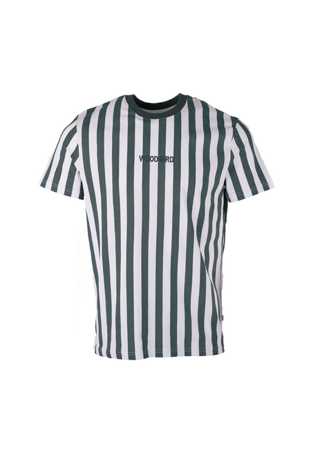 Soccer Tee - Green Striped - Audace Copenhagen