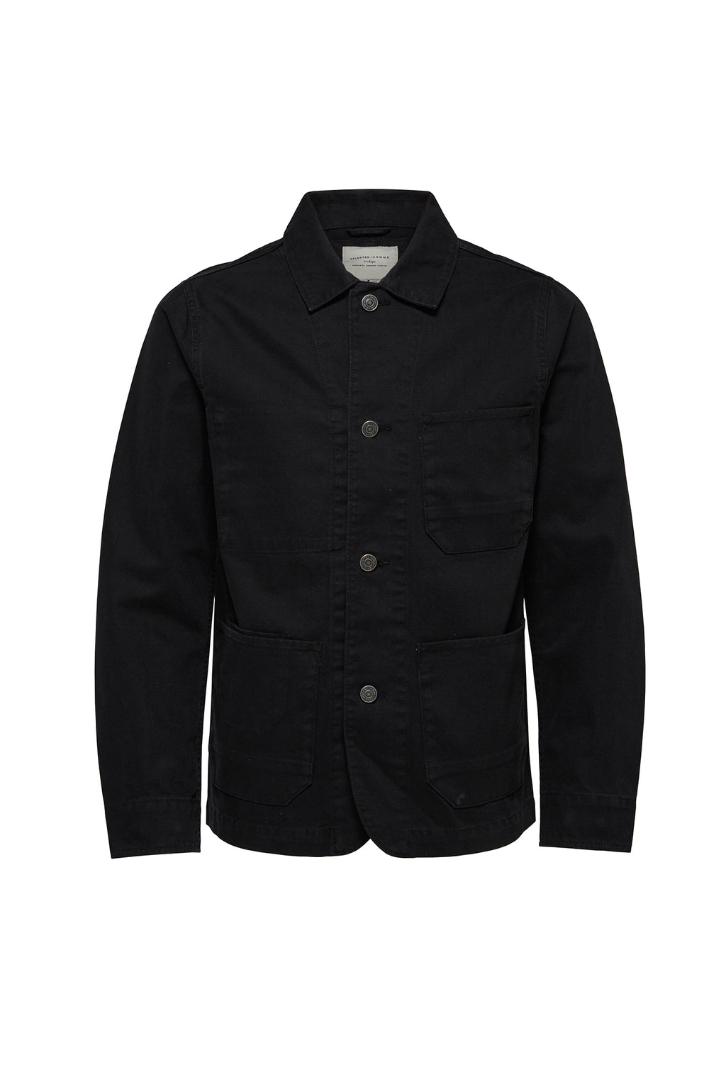 Canvas Worker Jacket - Black - Audace Copenhagen