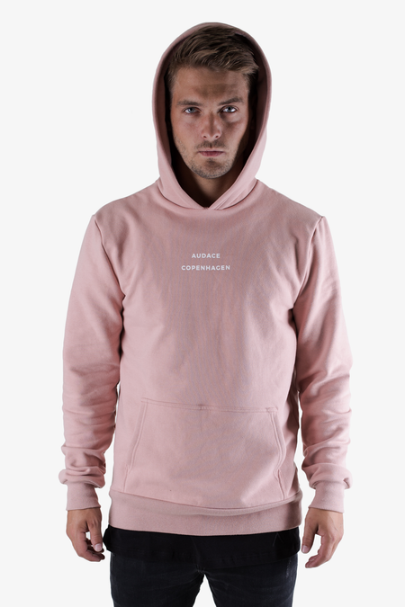 Brooklyn Hoodie - Misty Rose - Audace Copenhagen