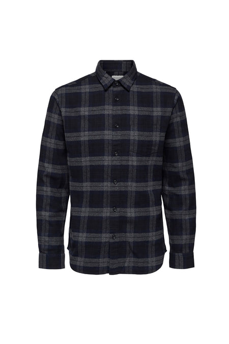 Carter Shirt - Dark Navy Grey - Audace Copenhagen
