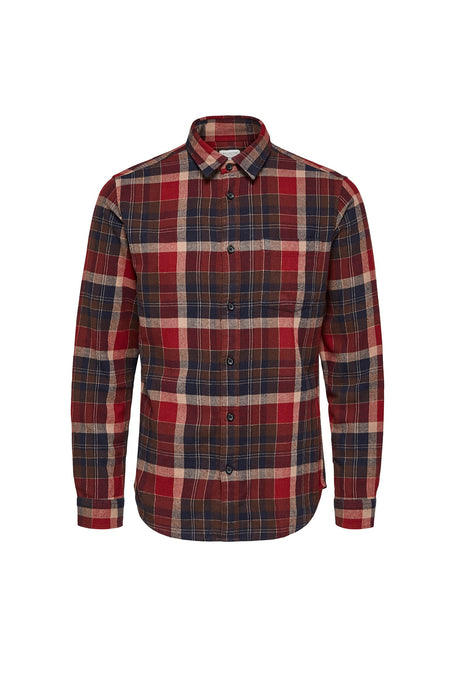 Carter Shirt - Rum Raisin Red - Audace Copenhagen