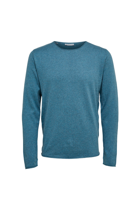 Dome Crew Neck - Blue Mirage - Audace Copenhagen