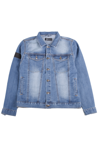 New York Denim Jacket - Indigo Blue