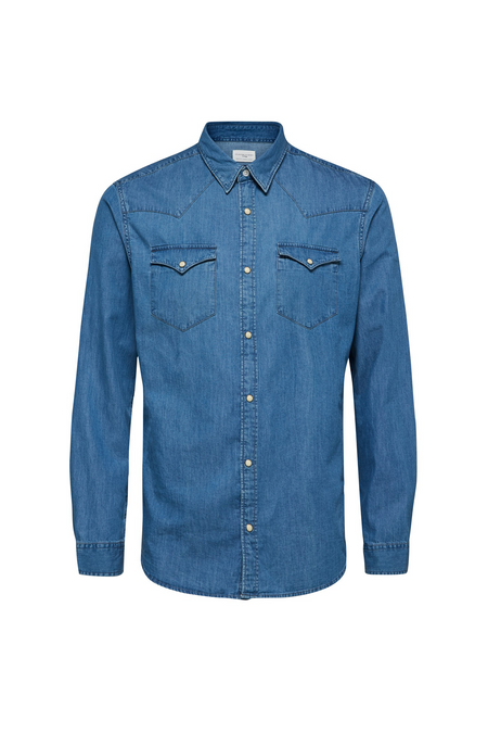 Nonened Shirt - Light Blue - Denim - Audace Copenhagen