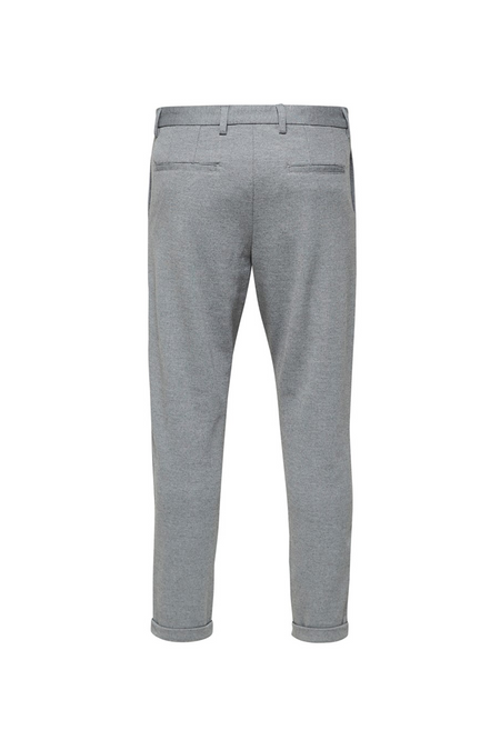 Alex Structure Zip Pants - Grey - Audace Copenhagen