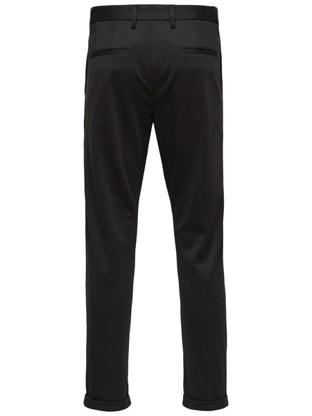 Alex Structure Zip Pants - Black - Audace Copenhagen