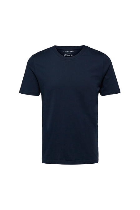 The Perfect Tee - O-Neck - Dark Sapphire - Audace Copenhagen