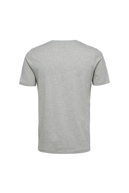 The Perfect Tee - O-Neck - Light Grey Melange - Audace Copenhagen