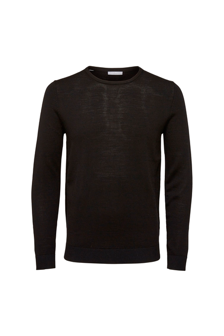 Tower Merino Crew Neck - Black - Audace Copenhagen