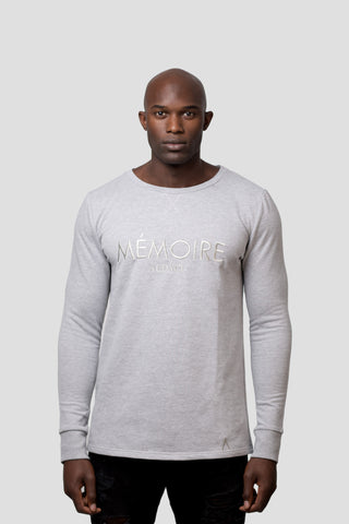 Mémoire Sweatshirt - Grey (Small, Medium, Large, X-Large) - Audace Copenhagen