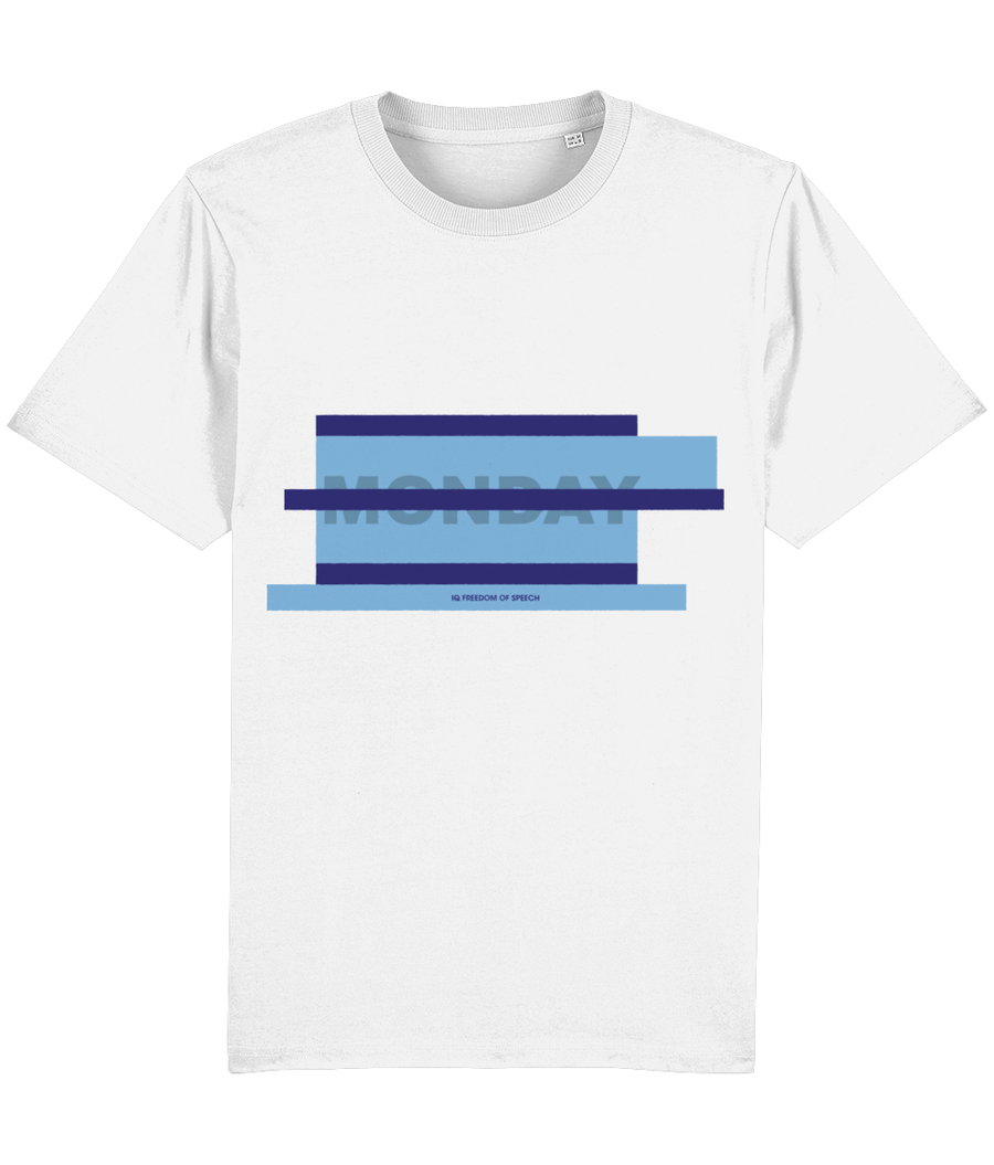 Blue Monday Parallel Lines T-Shirt