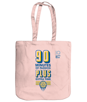 90 Minutes of Passion, Plus Extra Time Organic Cotton Tote Bag