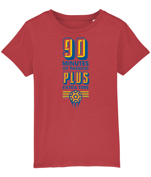 90 Minutes of Passion, Plus Extra Time Kids T-Shirt