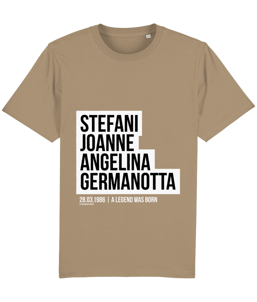 Stefani Joanne Angelina Germanotta - aka Lady Gaga - T-Shirt