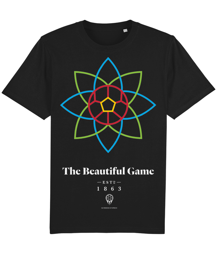 The Beautiful Game 100% Organic Cotton T-Shirt - Black