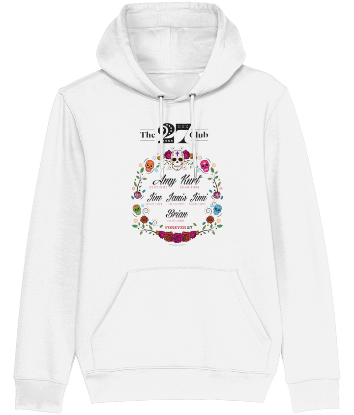 The 27 Club - Day of the Dead Circle of Flowers - Men's Hoodie