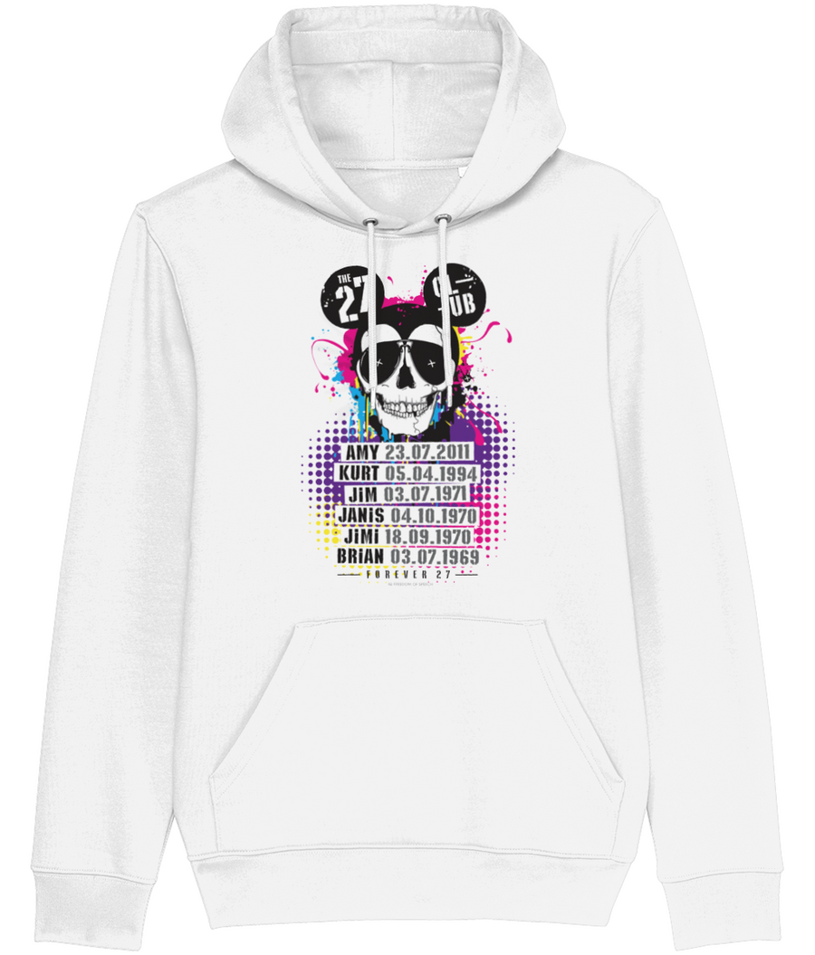 The 27 Club - Mouse Skull - Men's Hoodie