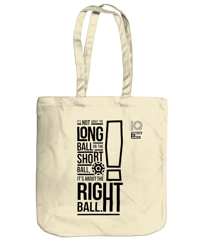 It's not about the long ball - Bob Paisley - Organic Cotton Tote Bag