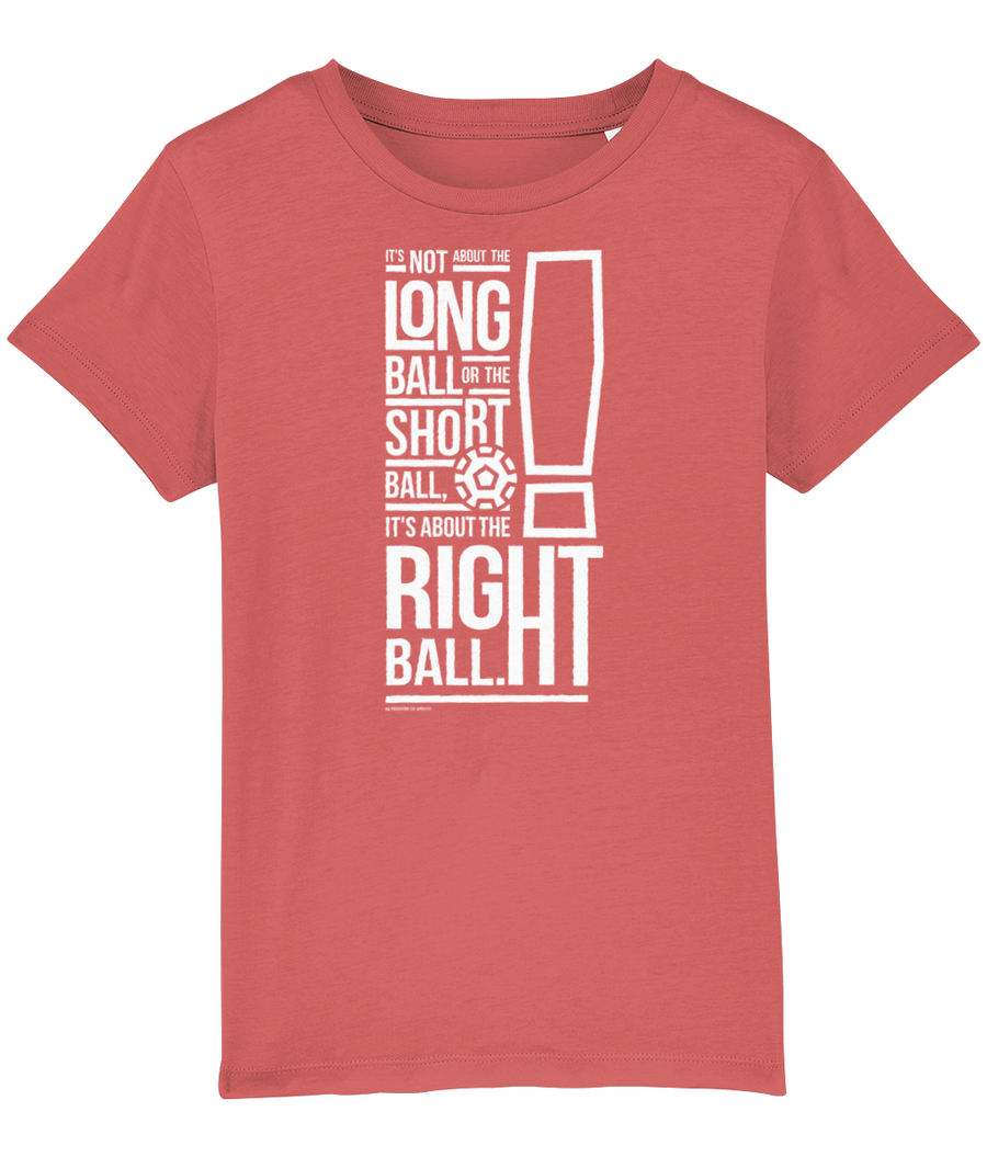 It's not about the Long Ball Kids T-Shirt