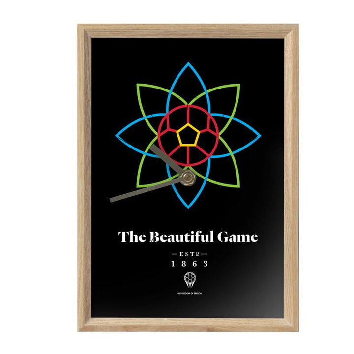 The Beautiful Game - Rectangle Mantle Clock